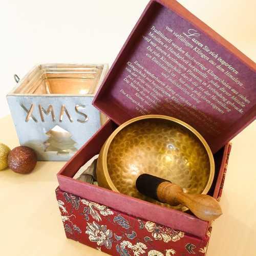 Klangschale Box Weihnachten