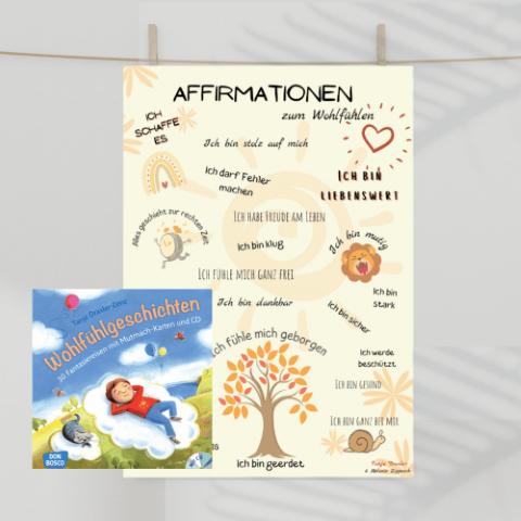 Wohlfühlset Buch+poster
